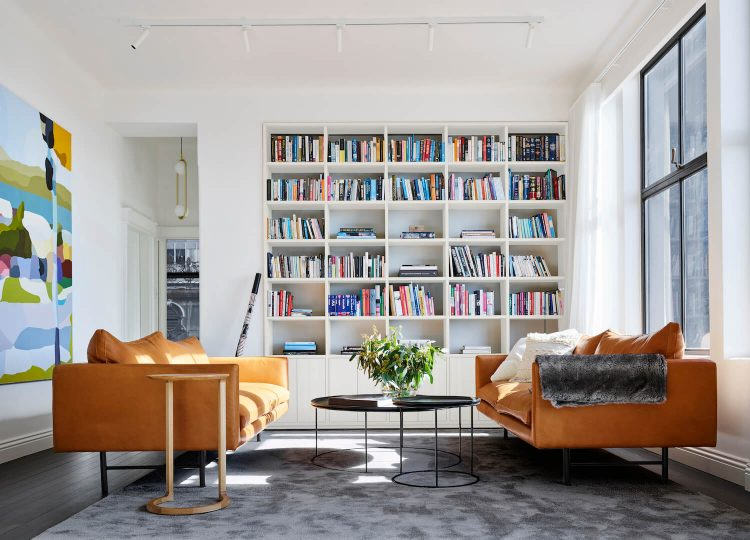 Living | Astor Apartment Living Room by Madeleine Blanchfield Architects