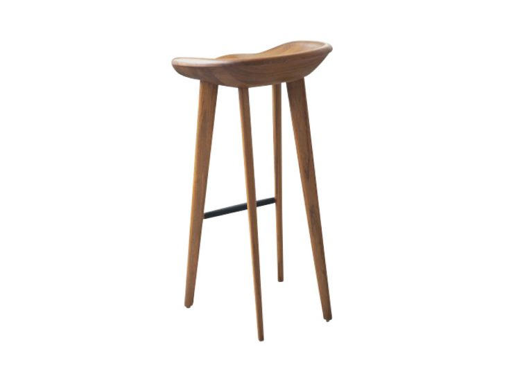 CB-23 Tractor Bar Stool in Walnut