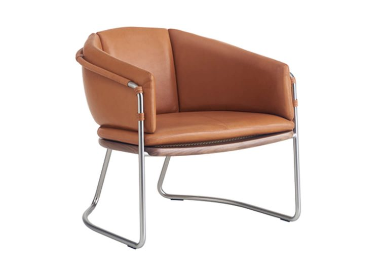 est living bassamfellows geometric lounge chair 01 750x540