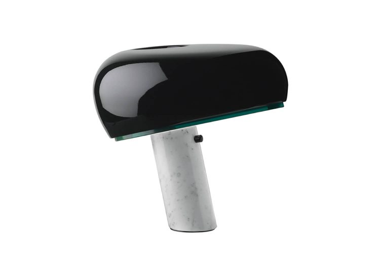 est living flos snoopy table lamp in black 01 750x540