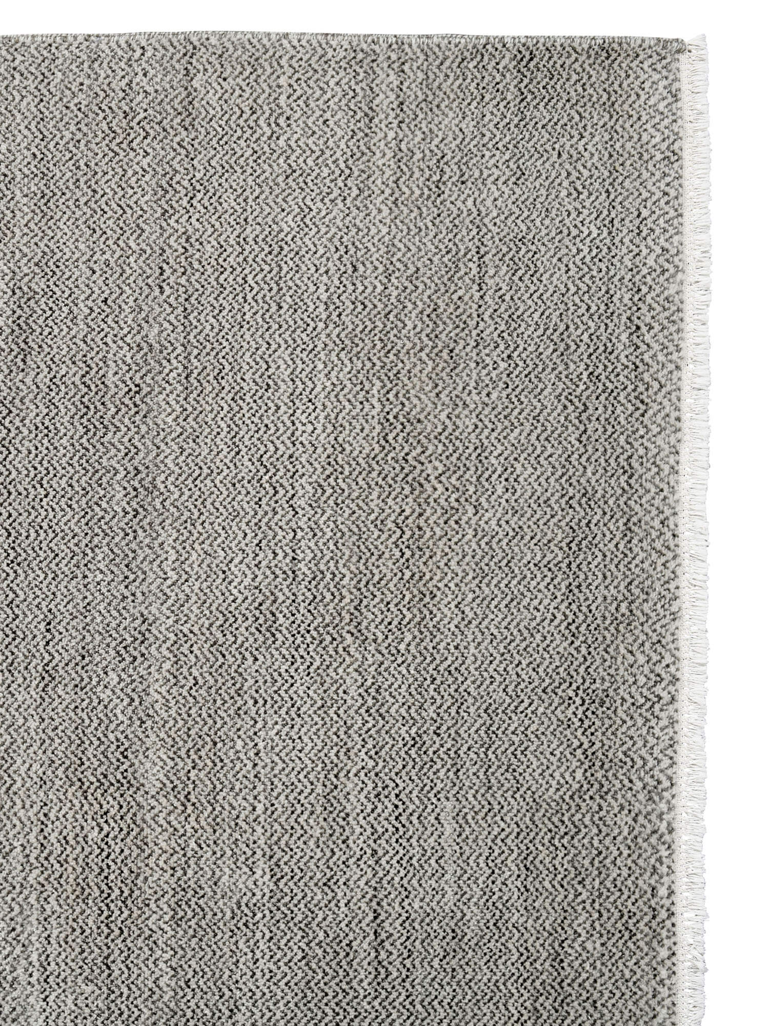 est living handcrafting a legacy Armadillo Rugs ACo HeirloomCollection PersiaKnot Medea Sterling Graphite Corner
