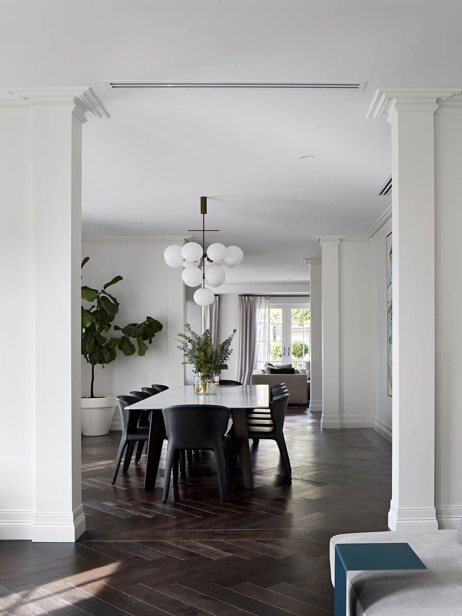 est living interiors 17 Glen Road Toorak Lauren Tarrant Design 1