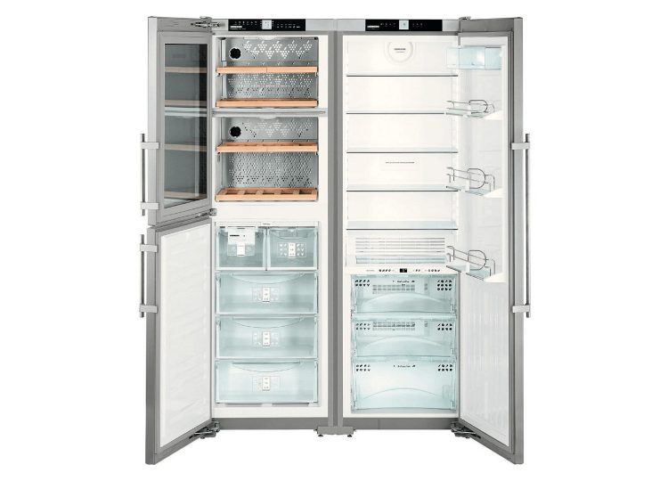 Liebherr Freestanding Side by Side Fridge