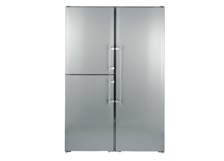 Liebherr Freestanding Side by Side Fridge with BioFresh