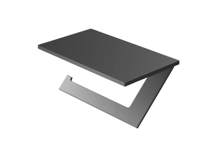 Tectonic Paper Holder with Shelf