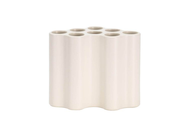 Nuage Medium Vase in Ceramic White
