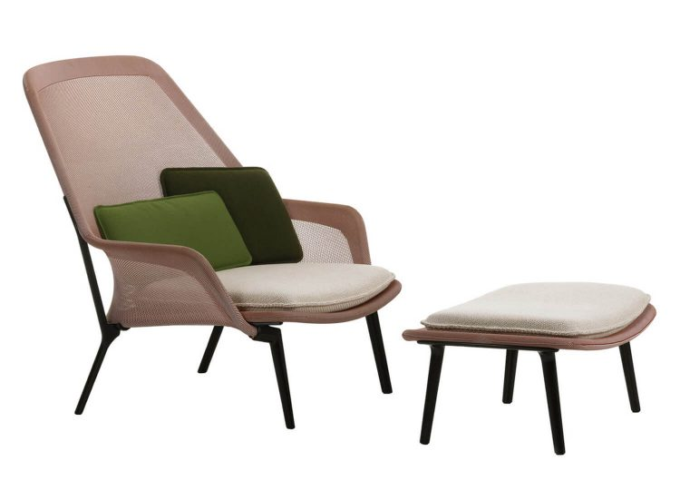 Vitra Slow Chair and Ottoman