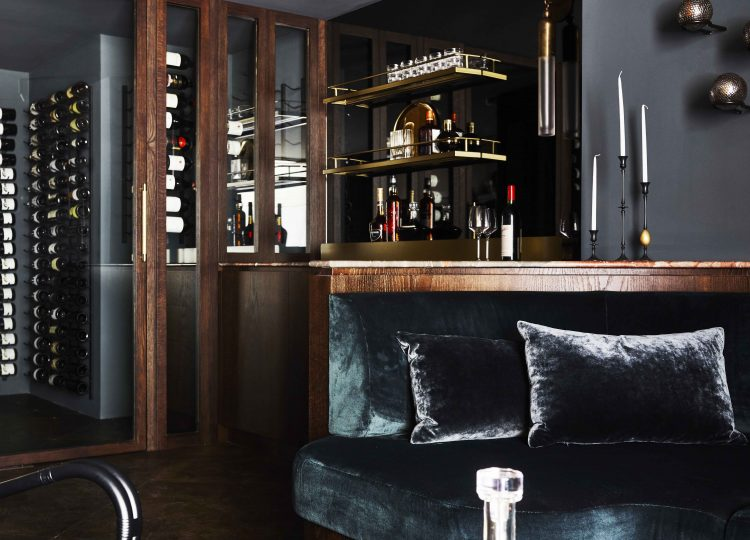 Bar & Cellar | Killcare House Bar by Decus Interiors