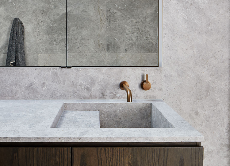 Bathroom | Shou-sugi-ban Home Bathroom by Hecker Guthrie