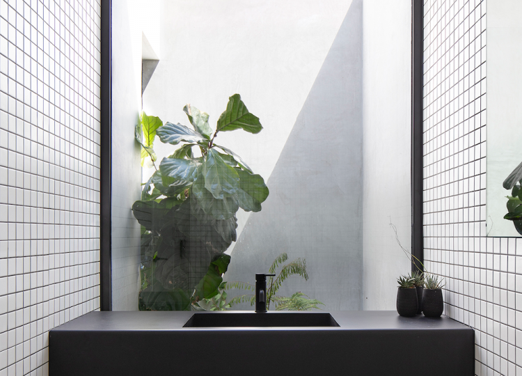 Bathroom | Yandoit Cabin Bathroom by Adam Kane Architects