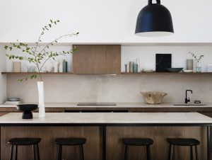 Kitchen | A Mid-Century Revival Kitchen by Studio Prineas
