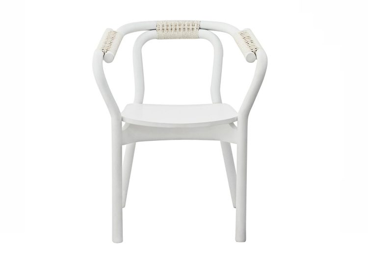 Normann Copenhagen White/White Knot Chair