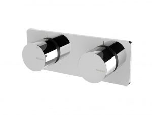 Toi Twin Shower / Wall Mixer
