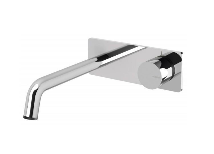 Toi Wall Basin/ Bath Mixer Set 180mm