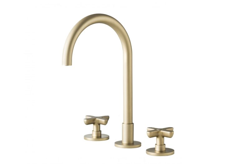 Fantini Icona Classic Basin Set British Gold