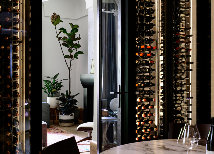 Bar & Cellar | St Vincents Place Cellar by B.E Architecture