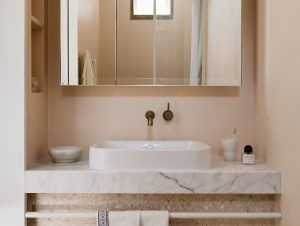 Bathroom 1   Storybook House Bathroom by Folk Architects