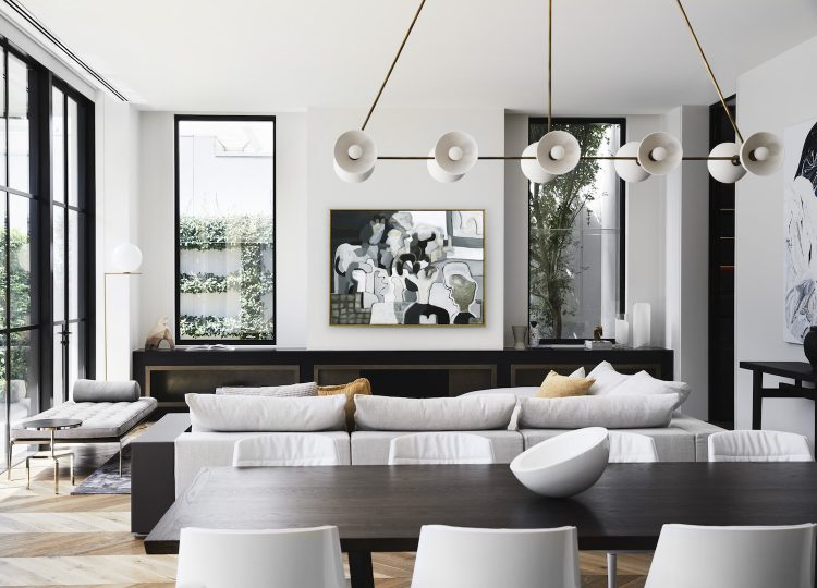 Living | Toorak Home Living Room by Edwina Glenn