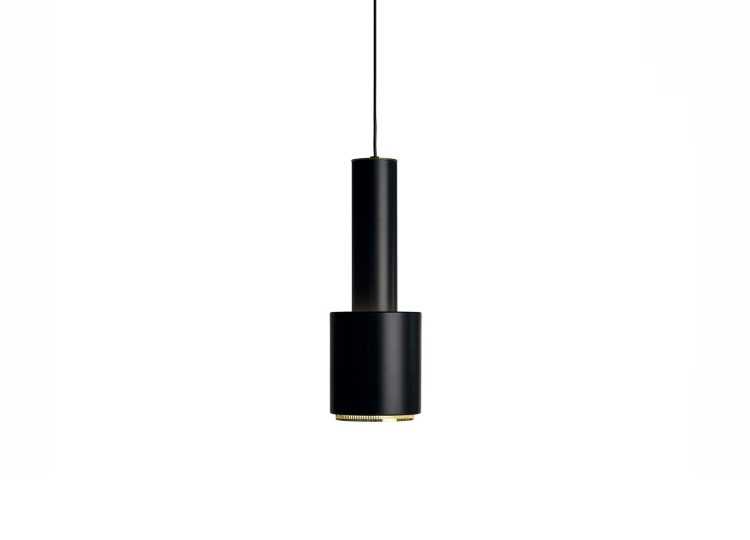 Artek Black Pendant Light A110