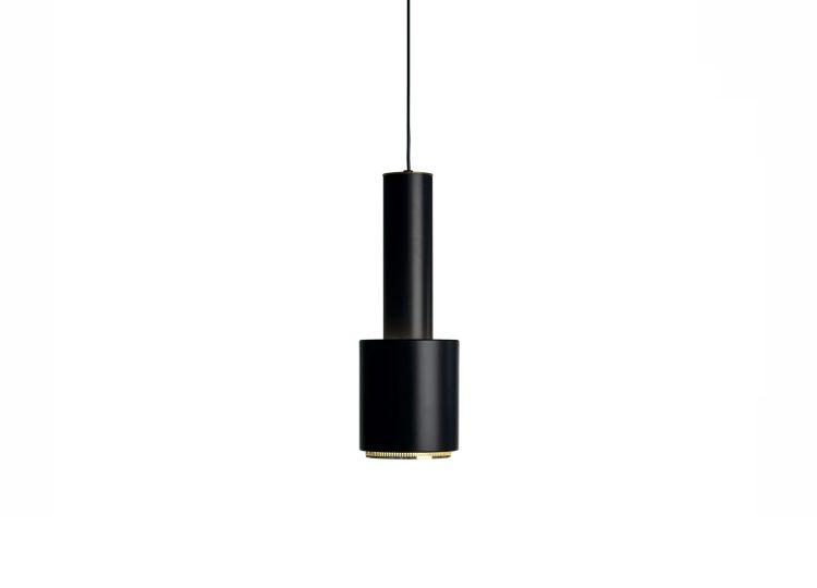 Artek Black Pendant Light A110