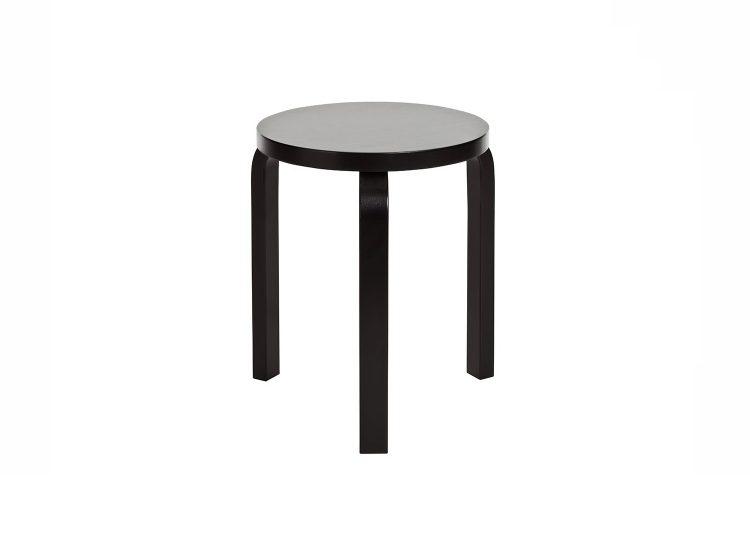 Artek Stool 60 (Black)