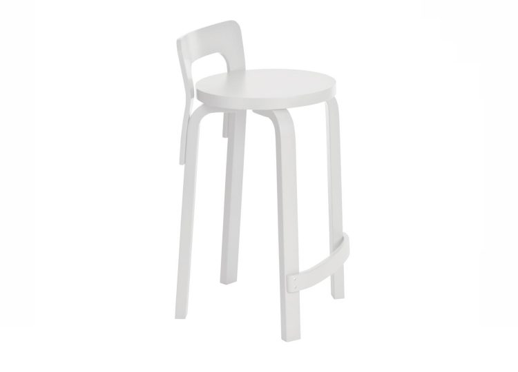 Artek White High Chair K65