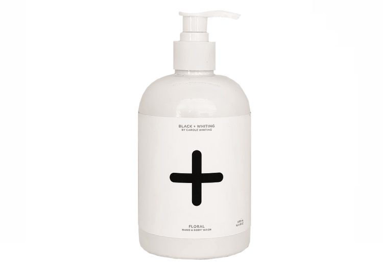 Black + Whiting Floral Hand + Body wash
