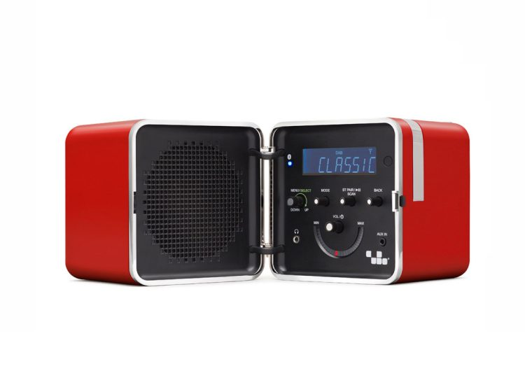 Brionvega Radio.cubo Red