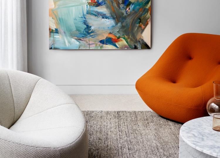 Living 3 | Canterbury House Living Room by Simone Haag