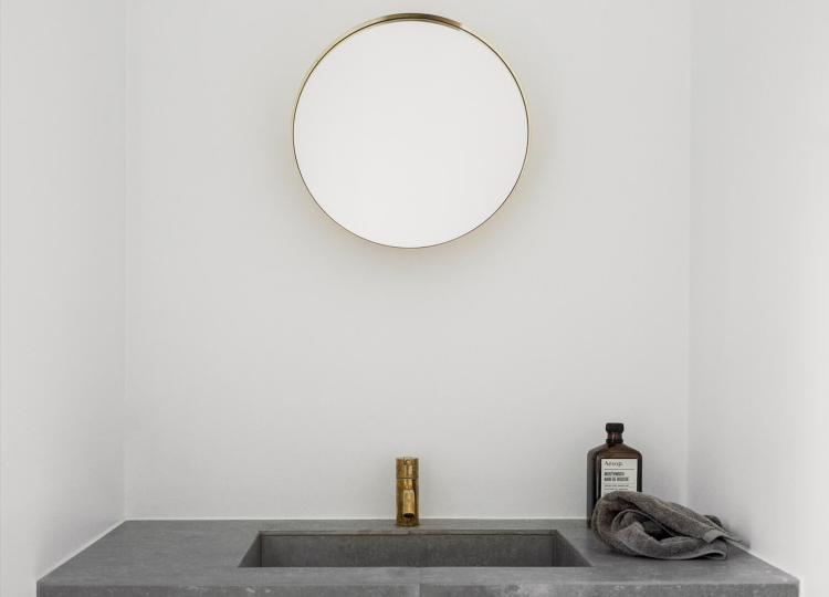 Bathroom 1 | Copenhagen Apartment Bathroom by Norm Architects