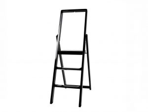 Design House Stockholm Black Step Stepladder