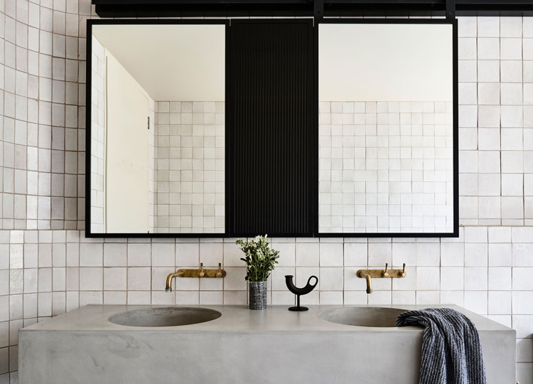 Bathroom 1 | Thornton Residence Bathroom by Doherty Design Studio