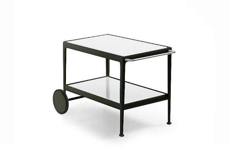 Knoll 1966 Serving Cart (Green Frame)