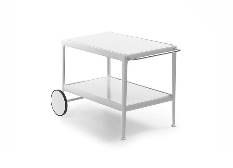 Knoll 1966 Serving Cart (White Frame)