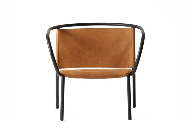 Menu Afteroom Cognac Lounge Chair