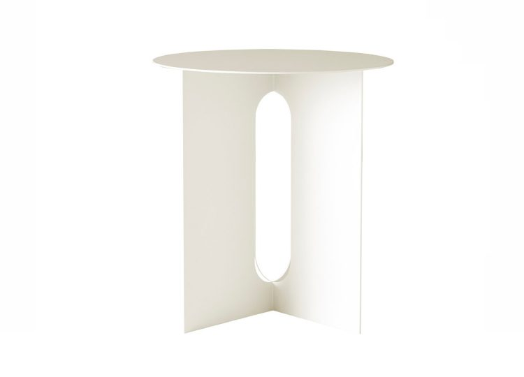Menu White Androgyne Side Table