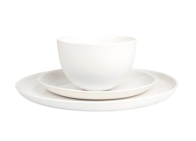 Mud Australia Milk 3pc Place Setting