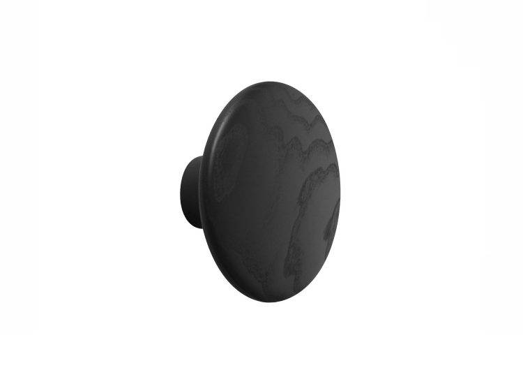 Muuto Dots Black Coat Hook