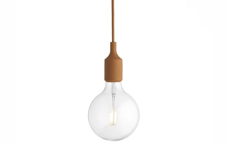 Muuto E27 Pendant Lamp (Clay Brown)