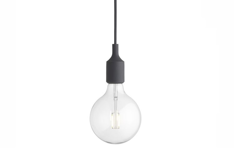 Muuto E27 Pendant Lamp (Dark Grey)