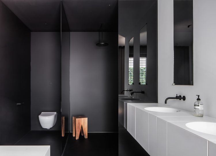 Bathroom | Oblique House Bathroom by Studio Niels