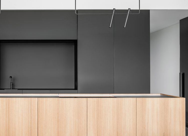 Kitchen | Oblique House Kitchen by Studio Niels