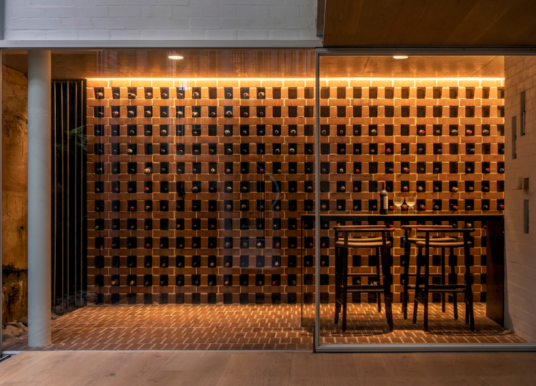 Bar & Cellar | Gordons Bay House Bar by  Renato D'Ettorre Architects