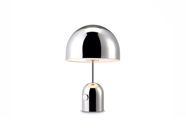 Tom Dixon Chrome Bell Table Lamp