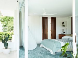 Bedroom | Tribute House by Luigi Rosselli Architects and Alwill Interiors