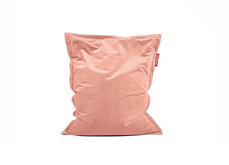 Fatboy Original Slim Velvet Bean Bag (Pearl Blush)