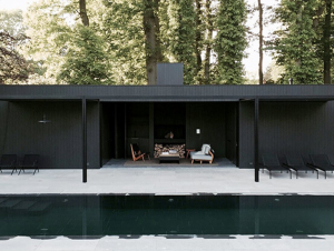 Outdoor Living | Pool House by Marc Merckx Design