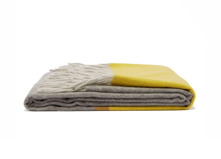 Begg & Co Arran Borderland Cashmere Throw (Flannel)
