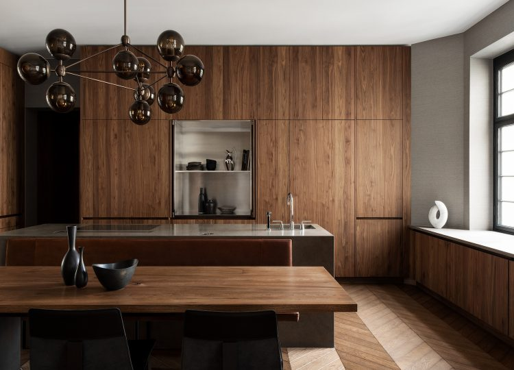 The Edit: Dark Timber Kitchens