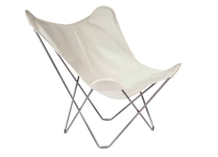 Cuero Outdoor Sunbrella Butterfly Chair